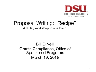 How not to write a research proposal