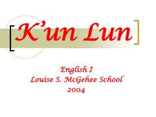 K un Lun