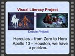 Visual Literacy Project