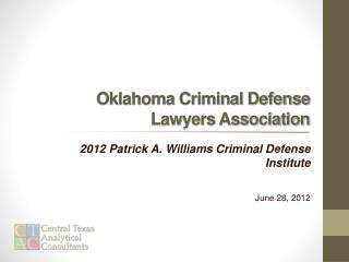 Oklahoma Criminal Defense Lawyers Association