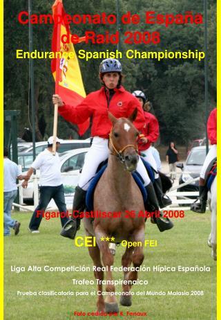 Campeonato de Espa a de Raid 2008 Endurance Spanish Championship