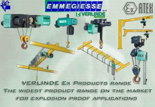 VERLINDE Ex Products range The widest product range on the market  for explosion proof applications.