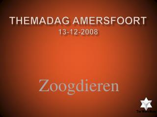Themadag Amersfoort 13-12-2008
