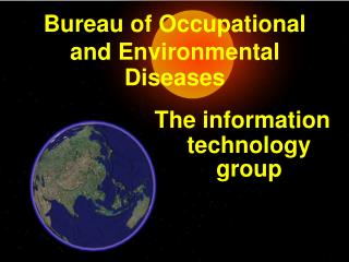 Bureau of Occupational and Environmental Diseases