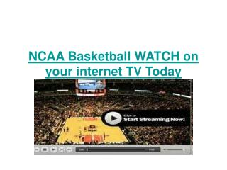 Davidson vs Creighton live Free NCAA Basketball on your inte