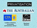 Leaders in finance, accounting  and business advice