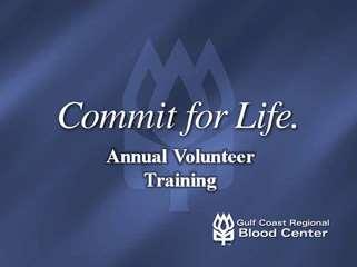 2010 Annual Volunteer Training