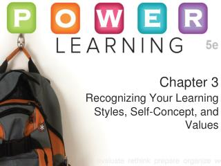 Chapter 3  Recognizing Your Learning Styles, Self-Concept, and Values