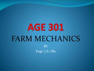 AGE 301