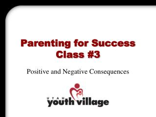 Parenting for Success Class 3