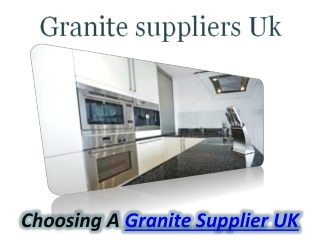 Granite Supplier UK