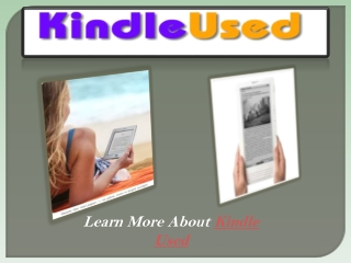 Kindle Used