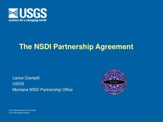 The NSDI Partnership Agreement