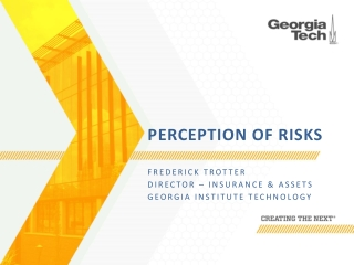 The Next Generation of Risk Technology Professionals
