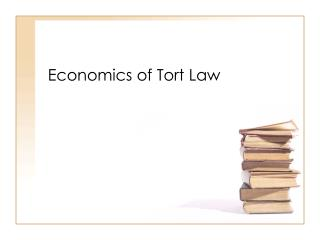 Economics of Tort Law