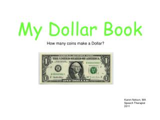 My Dollar Book