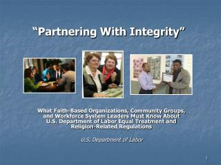 Partnering With Integrity
