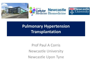 Lung Transplantation: What Who When