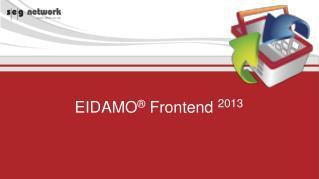 EIDAMO  Frontend 2011