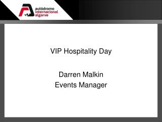 VIP Hospitality Day