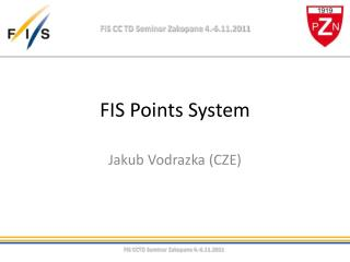 FIS Points System