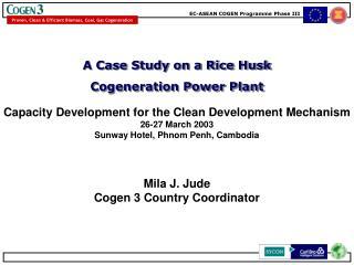 Mila J. Jude Cogen 3 Country Coordinator
