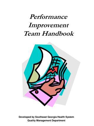 Performance Improvement  Team Handbook
