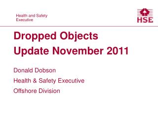 Dropped Objects Update November 2011