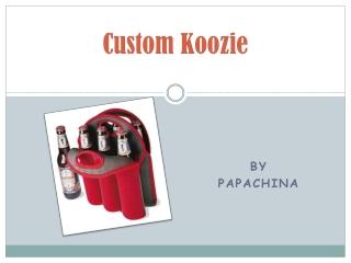 Custom Koozie is the best Promotional Item