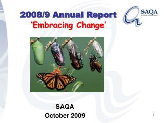 SAQA October 2009