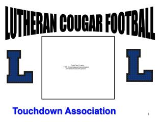 LUTHERAN COUGAR FOOTBALL