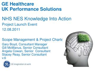 GE Healthcare UK Performance Solutions