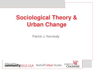 Sociological Theory   Urban Change