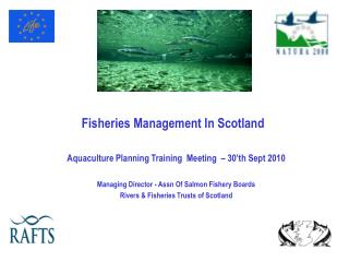 Fisheries Management In Scotland