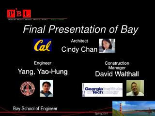 Final Presentation of Bay