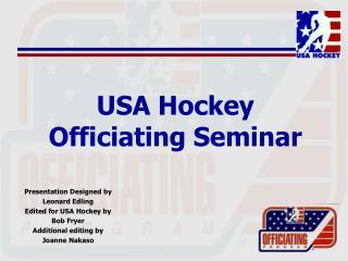 USA Hockey Officiating Seminar