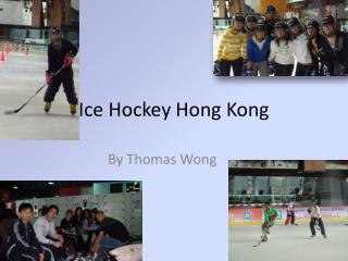 Ice Hockey Hong Kong