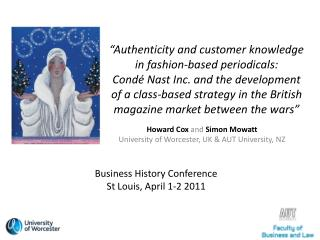 Authenticity and customer knowledge in fashion-based periodicals:  Cond  Nast Inc. and the development of a class-based