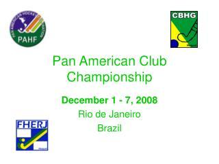 Pan American Club Championship