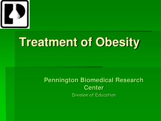 Treatment of Obesity