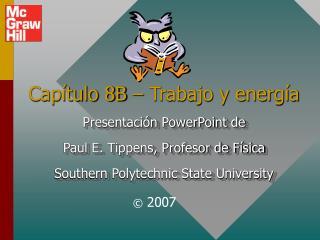 Cap tulo 8B   Trabajo y energ a