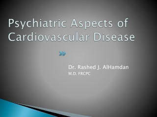 Psych aspects of CVD