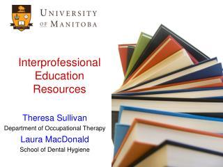 Interprofessional Education Resources
