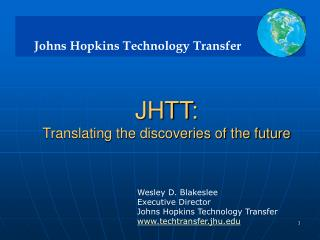 JHTT: Translating the discoveries of the future