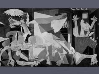 GUERNICA de Pablo PICASSO, 1937
