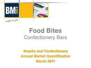Food Bites Confectionery Bars