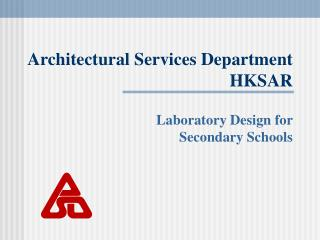 Architectural Services Department HKSAR