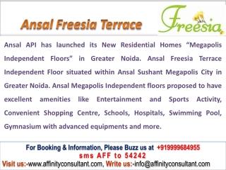 Ansal Freesia Noida @09999684955