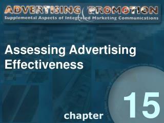 Assessing Advertising Effectiveness