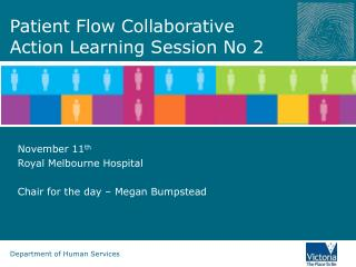 Patient Flow Collaborative Action Learning Session No 2